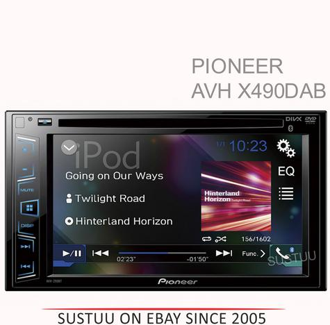 "Pioneer 6.2"" Touch