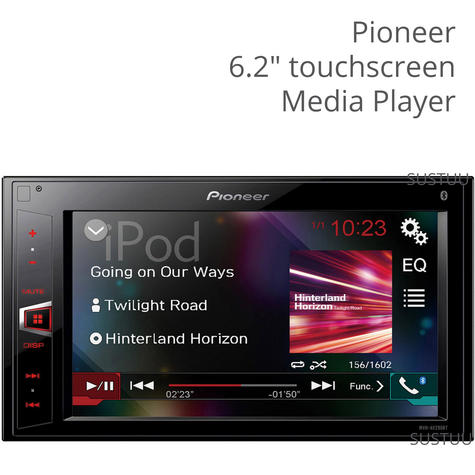 "Pioneer MVH-AV290BT|6.2"" InCar Stereo|2Din|USB|MP3|Bluetooth|iPod-iPhone-Android| Thumbnail 1"