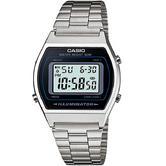 Casio Unisex B640WD-1AV Stainless Steel Vintage Stopwatch Retro Watch Sliver