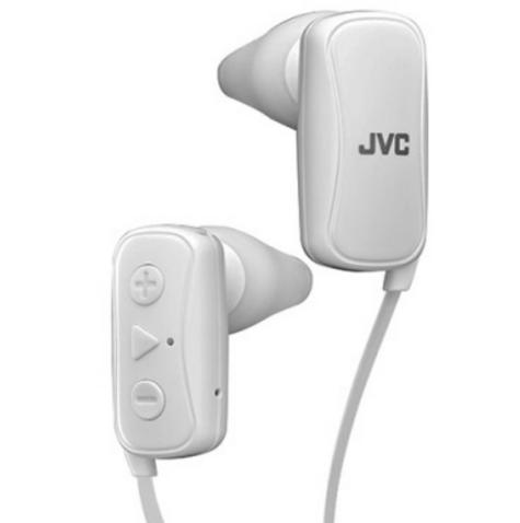 JVC HAF250BTWE Gumy Sports Bluetooth Headphones|9.0mm |In Ear|Android/Ios|White Thumbnail 2