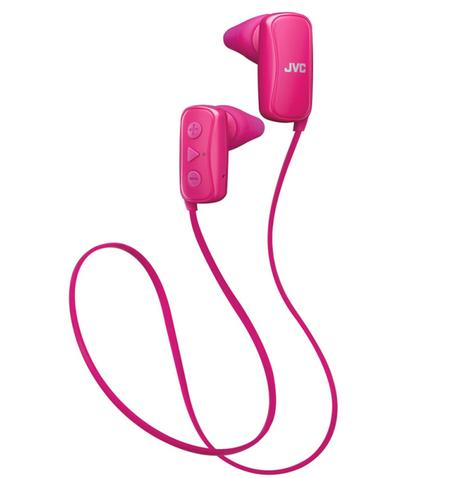 JVC HAF250BTPE Gumy Sports Bluetooth Headphones|9.0mm |In Ear|Android/Ios|Pink| Thumbnail 3