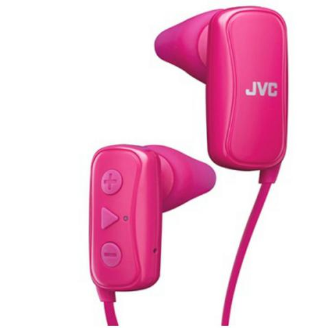 JVC HAF250BTPE Gumy Sports Bluetooth Headphones|9.0mm |In Ear|Android/Ios|Pink| Thumbnail 2