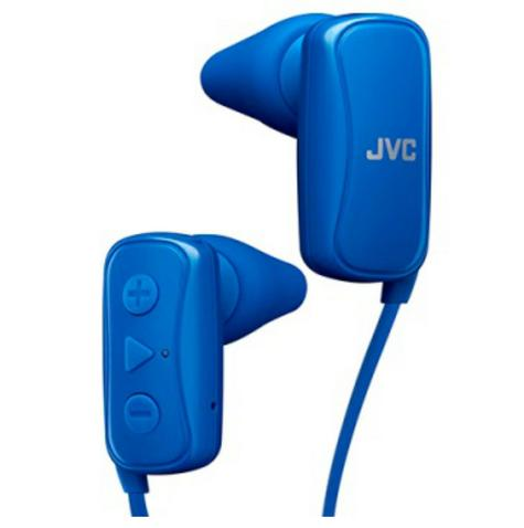 JVC HAF250BTAE Gumy Sports Bluetooth Headphones|9.0mm |In Ear|Android/Ios|Blue| Thumbnail 2