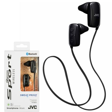 JVC HAF250BTBE Gumy Sports Bluetooth Headphones|9.0mm |In Ear|Android/Ios|Black| Thumbnail 2