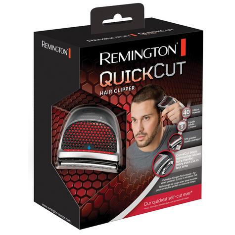 Remington HC4250 Quick Cut Mens Hair Clipper | Cord/Cordless | Fully Washable | Silver Thumbnail 4