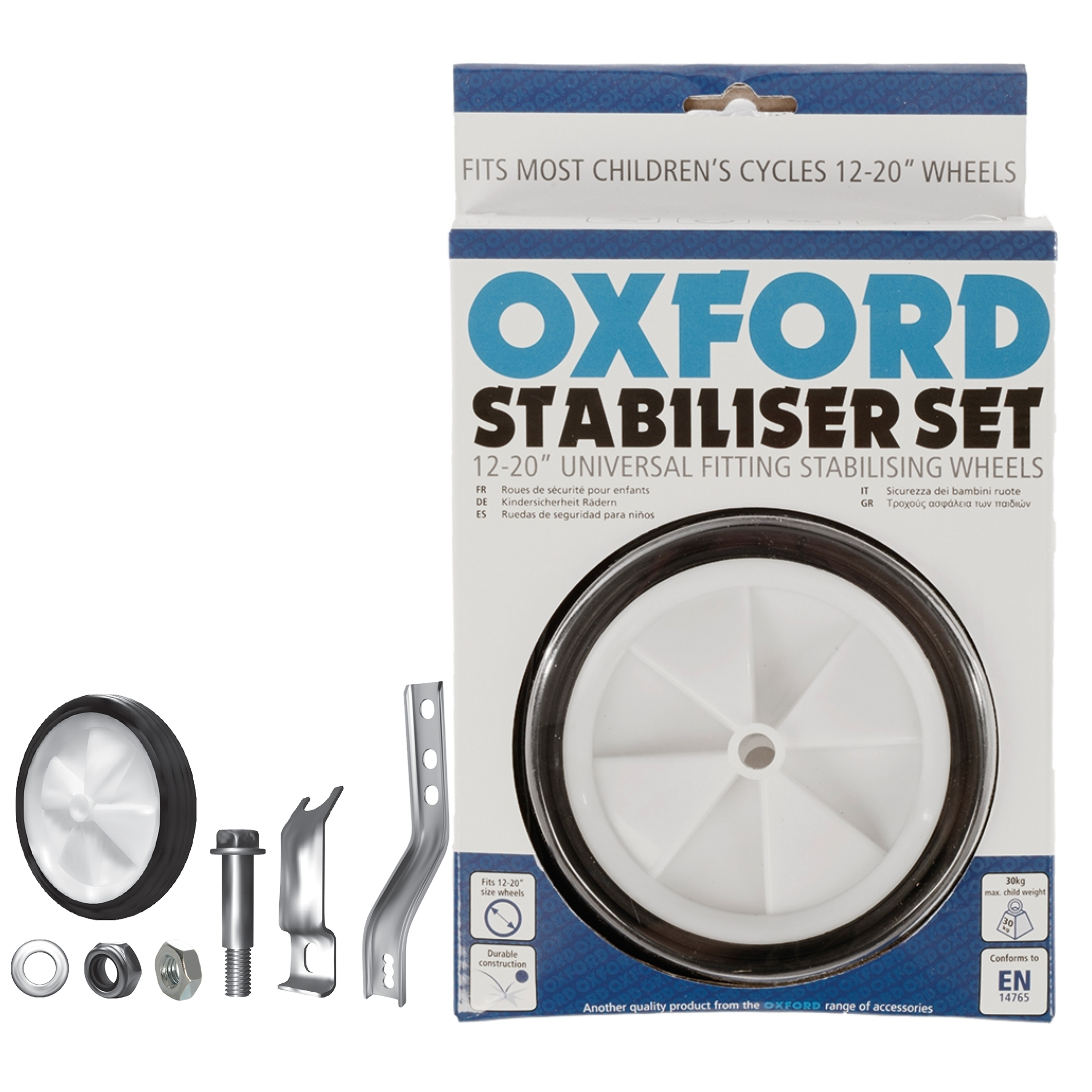 Oxford Bicycle Cycle Universal Stabiliser Set - 12-20