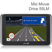 Mio Mivue Drive 55 LM SatNav + EHD Dashcam | 16GB | Lifetime EU Maps-Traffic Updates