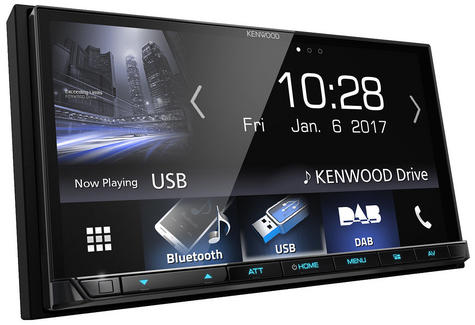 """Kenwood 7"""" In Car Stereo/ Multimedia Receiver DAB Bluetooth USB Aux Apple Carplay Android Auto Thumbnail 2"""