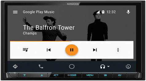 """Kenwood 7"""" In Car Stereo/ Multimedia Receiver DAB Bluetooth USB Aux Apple Carplay Android Auto Thumbnail 4"""