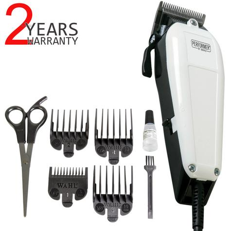 Wahl Performer Dog Animal Shaver Clipper Kit|4xCombs|Carbon Steel Blades|Scissor Thumbnail 1