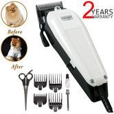 Wahl Performer Dog Animal Shaver Clipper Kit | 4xCombs | Carbon Steel Blades | Scissor