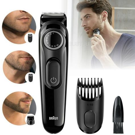 Braun BT3020 Mens Styling Beard  / Hair Trimmer / Cordless / Rechargeable / Washable / Thumbnail 1