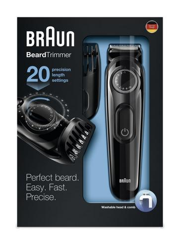 Braun BT3020 Mens Styling Beard  / Hair Trimmer / Cordless / Rechargeable / Washable / Thumbnail 4
