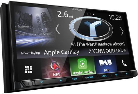 "Kenwood 7"" Car Stereo+GPS SatNav|DAB+|USB|Bluetooth|Apple CarPlay & Android Auto Thumbnail 3"