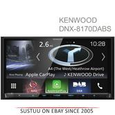 "Kenwood 7"" Car Stereo+GPS SatNav