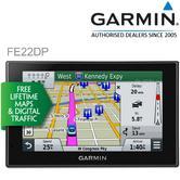 "Garmin Fleet Enterprise 22DP|5""GPS SatNav|Lifetime UK Ireland Map+Digital Taffic"