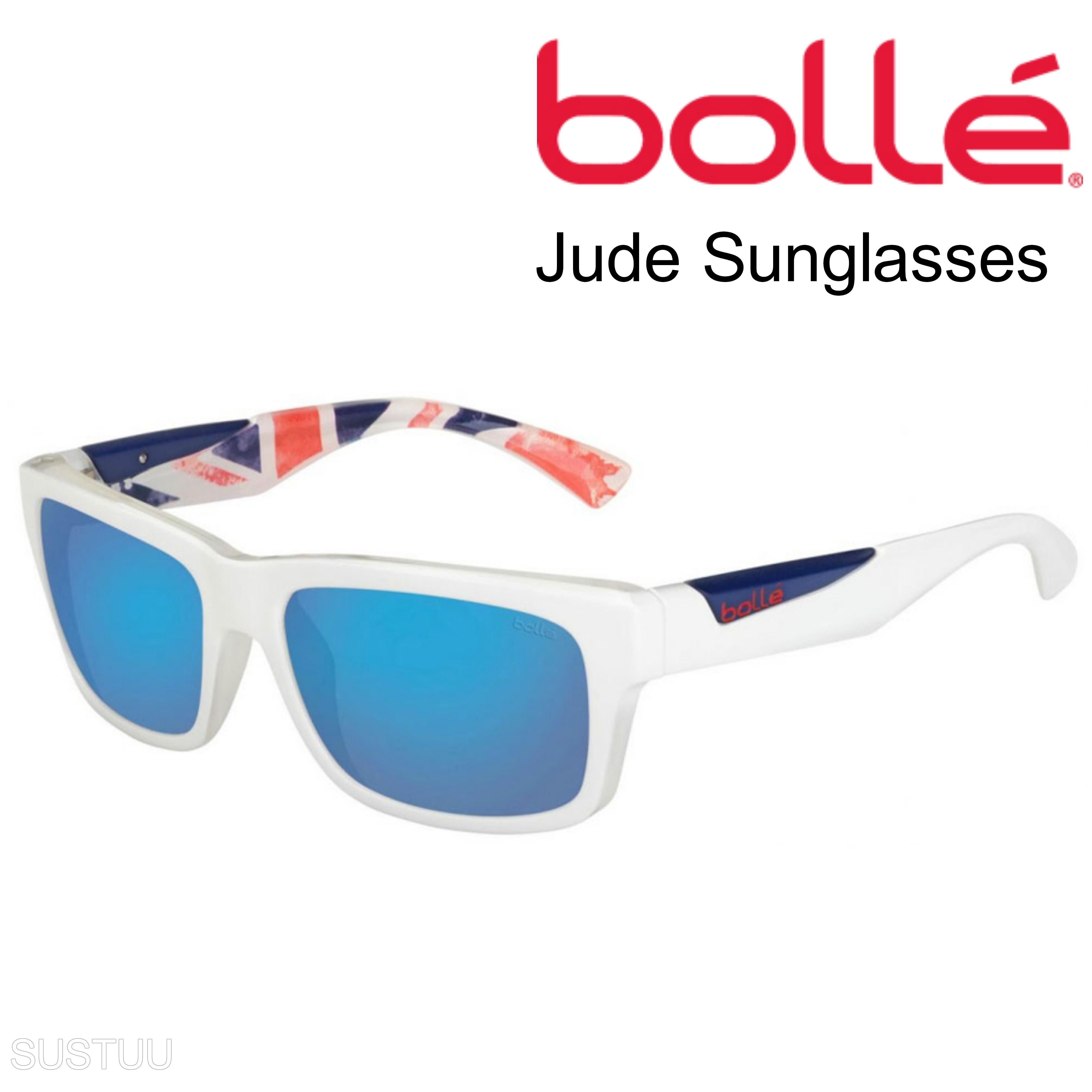 Sunglasses Frame polarized Blue White Lens Bollé 12183 Jude offshore Uk matte 8nk0wPO