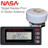 NASA Marine Target Navtex Pro Plus Receiver with H Vector Antenna | For Marine