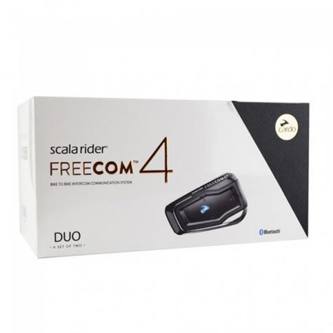 Cardo Scala Freecom 4 Duo?4Way Bike-Bike/Motorcycle Bluetooth 2 Headset/Intercom Thumbnail 2