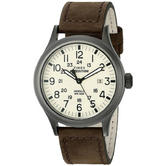 Timex T49963 Mens Expedition Watch|Indiglo Night Light|Date|Nylon Strap - Brown