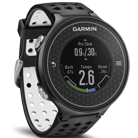Garmin Approach S6 | GPS Rangefinder Golf Watch | 38000 Worldwide Golf Courses | Black Thumbnail 2