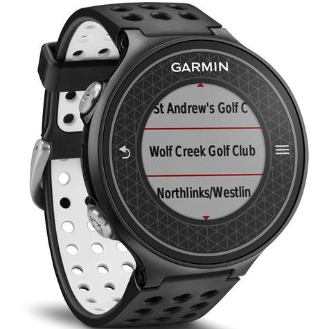 Garmin Approach S6 | GPS Rangefinder Golf Watch | 38000 Worldwide Golf Courses | Black Thumbnail 4