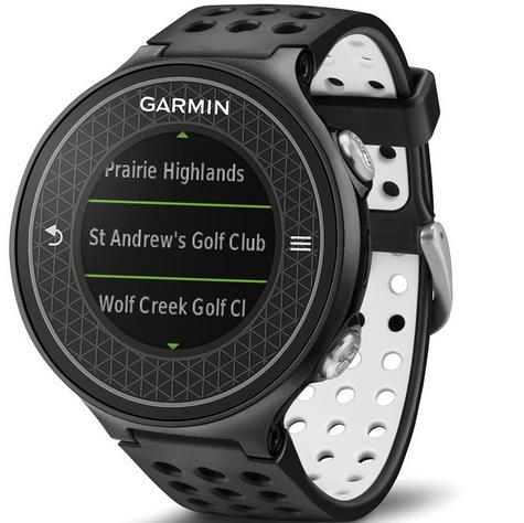 Garmin Approach S6 | GPS Rangefinder Golf Watch | 38000 Worldwide Golf Courses | Black Thumbnail 7