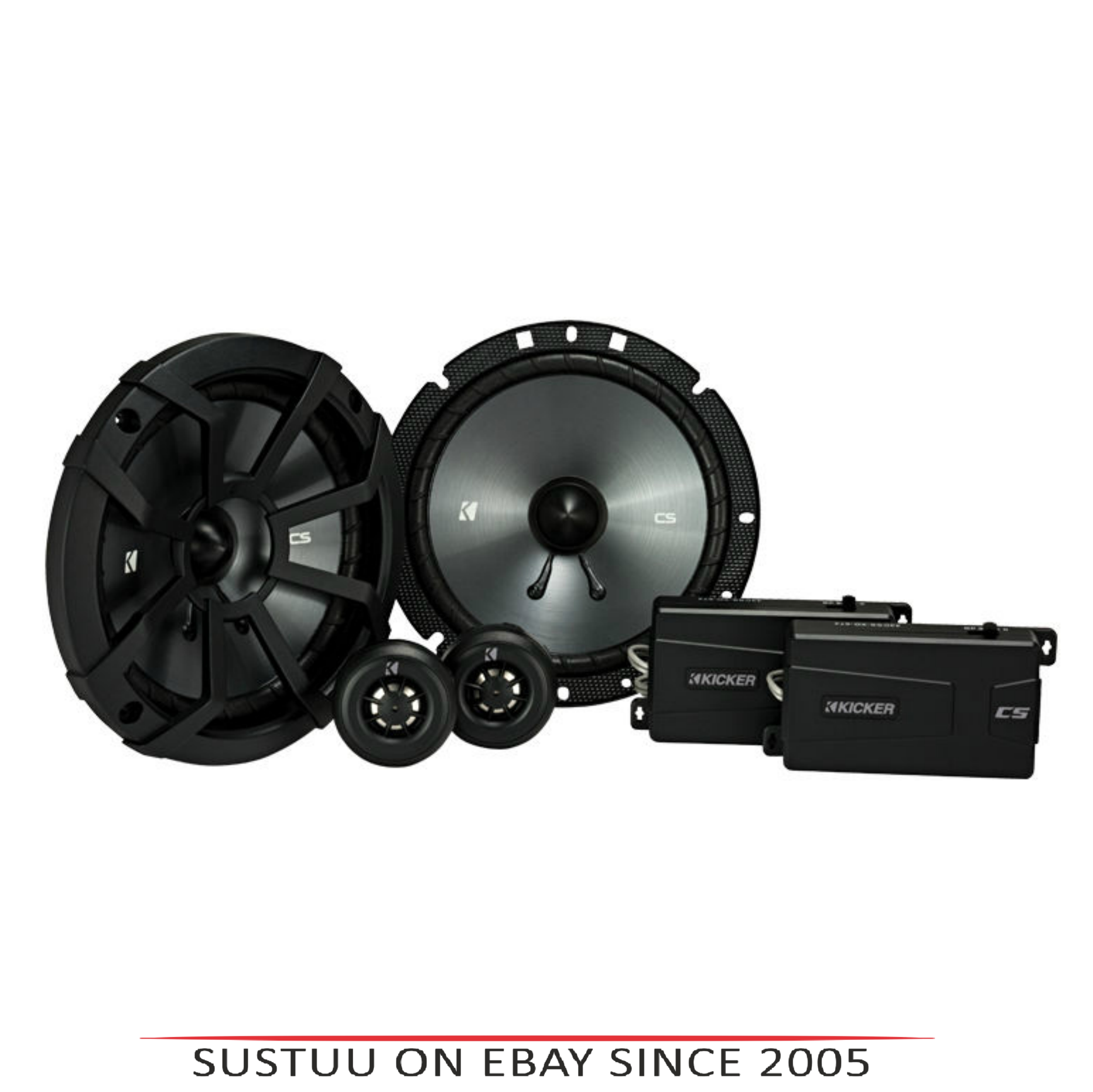 "Kicker KA43CSS674|CS 6.5""Components Car Speaker|Door-Shelf|Sound Electronic Components"