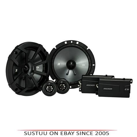 "Kicker KA43CSS674|CS 6.5""Components Car Speaker|Door-Shelf|Sound Electronic Components Thumbnail 1"