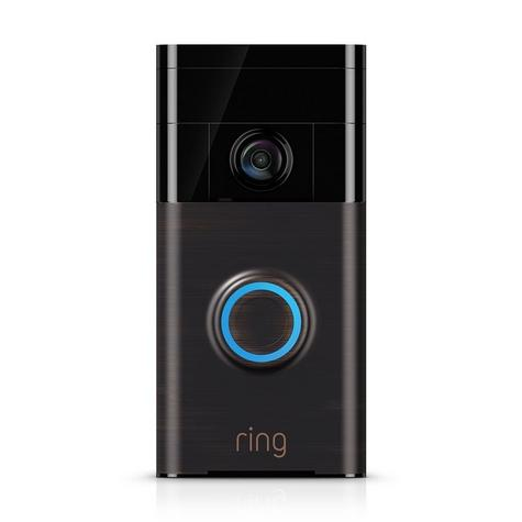 Ring Smart Video Doorbell?Built-in Wi-Fi & Camera?Water Resistance?Motion Sensor Thumbnail 1