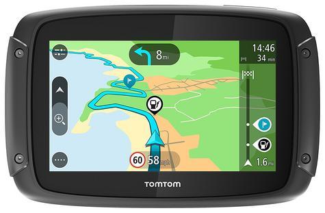 TomTom Rider 420 Motorcycle GPS-SatNav Navigation Bluetooth *Lifetime EU Map+Traffic+Camera Alerts Thumbnail 4