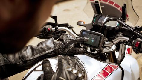TomTom Rider 420 Motorcycle GPS-SatNav Navigation Bluetooth *Lifetime EU Map+Traffic+Camera Alerts Thumbnail 5
