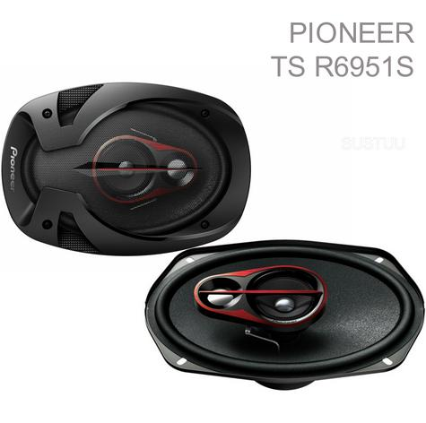 New Pioneer 3-way Full-Range Car Loudspeaker|Superb Bass|6X9"