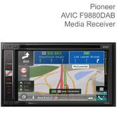 Pioneer Car Stereo + Navigation AV System | CD/DVD Player | DAB+ Radio | Bluetooth | USB