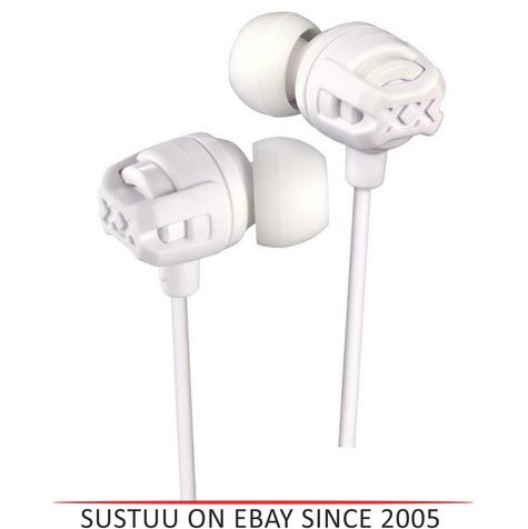 JVC HAFX103MW Xtreme Xplosives In Ear Bass Headphones With Mic & Remote - White Thumbnail 1
