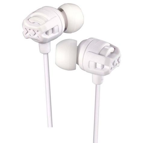 JVC HAFX103MW Xtreme Xplosives In Ear Bass Headphones With Mic & Remote - White Thumbnail 2