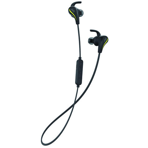 JVC HAET50BTB Pivot Motion Fit Wireless Bluetooth Sports Headphones - Black Thumbnail 2