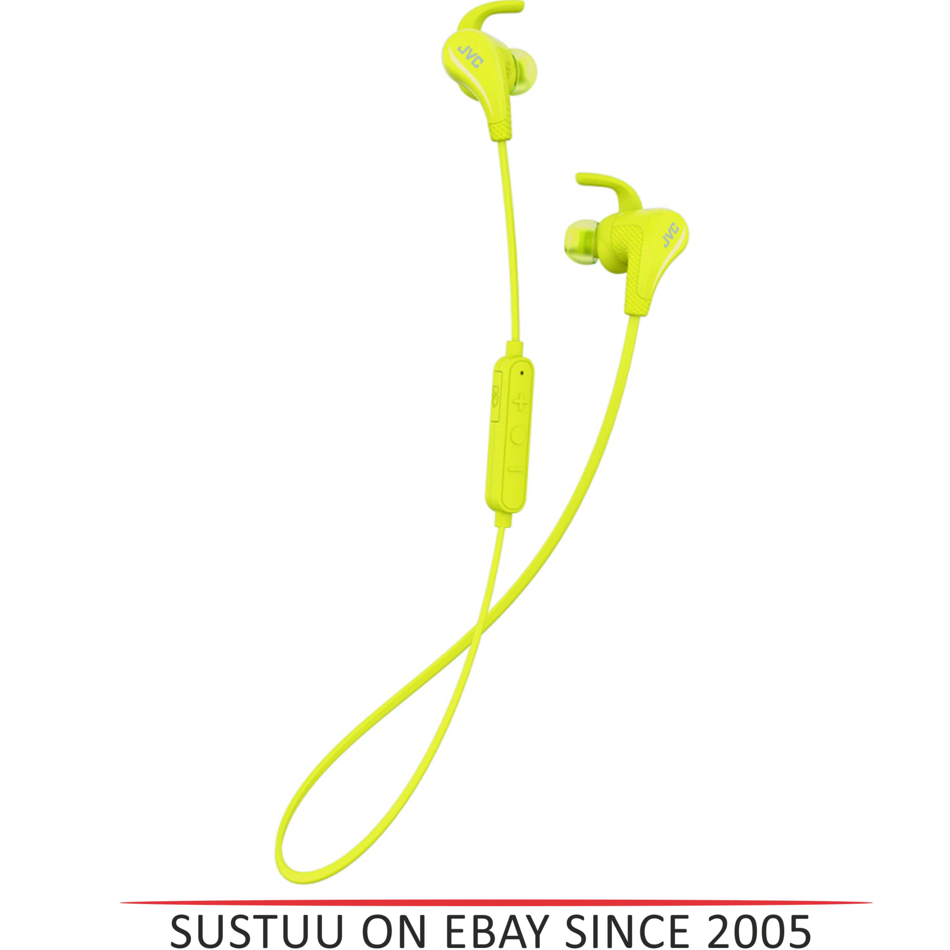 JVC HAET50BTY Wireless Bluetooth Sports Headphone With Pivot Motion Fit - Yellow