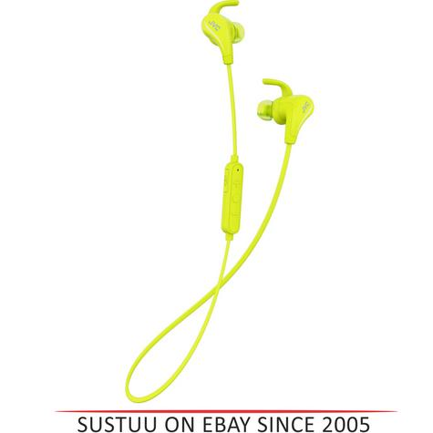 JVC HAET50BTY Wireless Bluetooth Sports Headphone With Pivot Motion Fit - Yellow Thumbnail 1