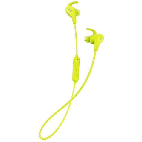 JVC HAET50BTY Wireless Bluetooth Sports Headphone With Pivot Motion Fit - Yellow Thumbnail 2