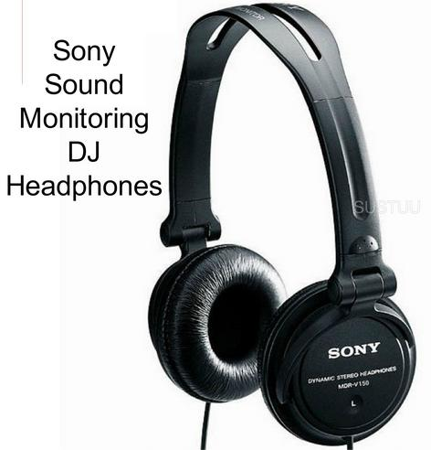 SONY MDR-V150 DJ Headphones for iPod/iPhone/iPad/MP3 Android & Smartphones BLACK Thumbnail 2