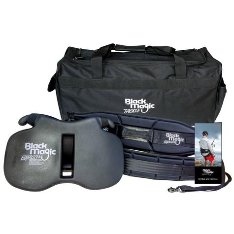 BLACK MAGIC TACKLE-GIMKITJ|Fighting Belt & Harness|Equalizer Set|Carry Bag & DVD - Small Thumbnail 1