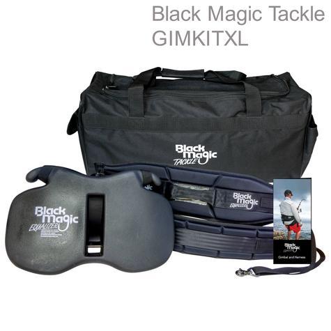 BLACK MAGIC TACKLE|Fighting Belt & Harness|Equalizer Set|Carry bag & DVD|XL Wide Thumbnail 1