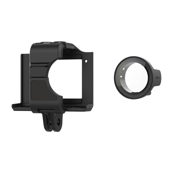 Garmin Cage Mount with Protective Lens Cover | Holder For VIRB Ultra 30 Camera | Black