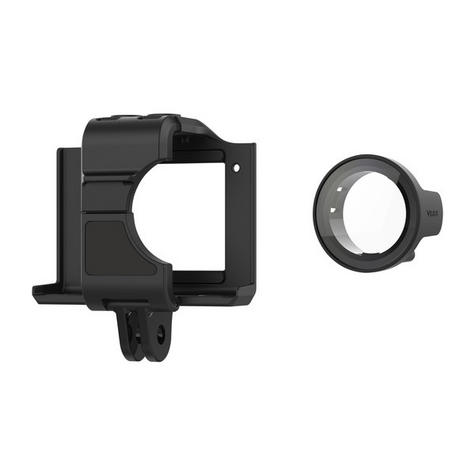 Garmin Cage Mount with Protective Lens Cover | Holder For VIRB Ultra 30 Camera | Black Thumbnail 1