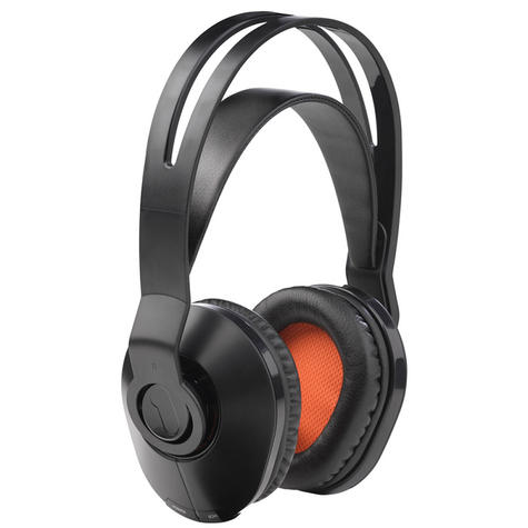 One For All HP1020 Wireless TV Headphones|On Ear|100m Range|Suit For iPod / iPad Thumbnail 3