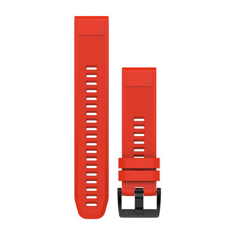 Garmin Quickfit 22 Watch Strap Band | For Approach S60-Forerunner 935 | Red Silicone Thumbnail 1