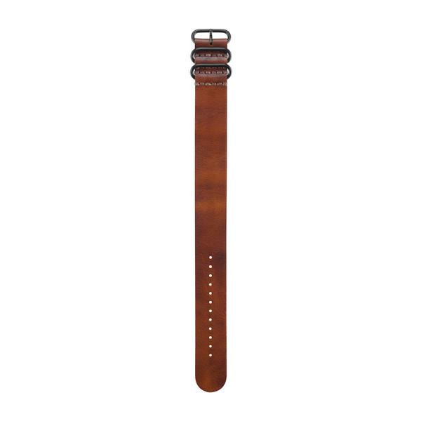 Garmin Brown Leather Watch Strap Band | For Fenix 3/3 Sapphire/D2 Bravo/Tactix Bravo