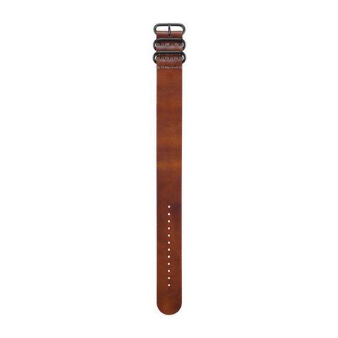 Garmin Brown Leather Watch Strap Band | For Fenix 3/3 Sapphire/D2 Bravo/Tactix Bravo Thumbnail 1