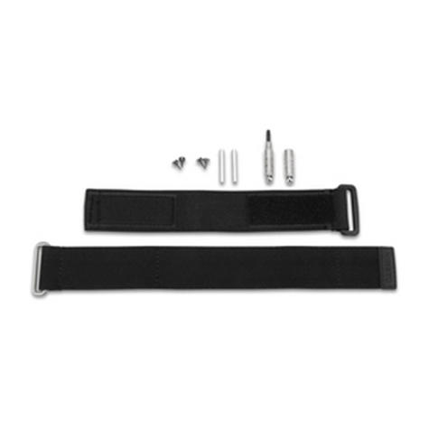Garmin Fabric & Extender Wrist Watch Strap + Tools | For Fenix 3 / Quatix 3 / Tactix | Black Thumbnail 2
